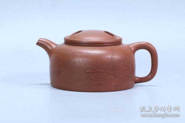 """舊藏 """"王寅春""""紫砂壺"""