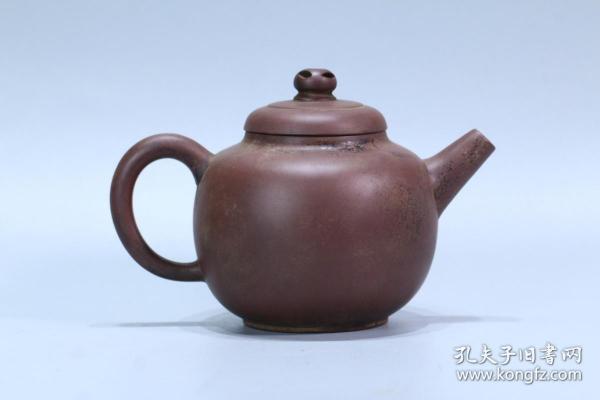 """舊藏 """"馮桂林""""紫砂壺"""