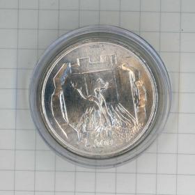 閑山集推薦世界銀幣——圣馬力諾1976年社會保障(古木圖騰)500里拉銀幣2(永久保真)