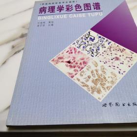 病理學彩色圖譜(銅版、每頁均有彩圖,品好,低價走路)