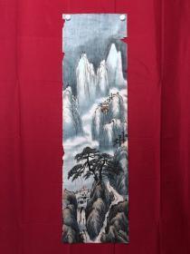 書畫9080無款山水畫,約3.5平尺