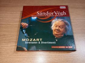 Capriccio 莫扎特:小夜曲&嬉游曲集(10CD)桑多·維赫指揮