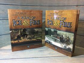 绝版现货 冰与火之歌的艺术The Art of George R.R. Martins A Song of Ice & Fire: Volume1、 2 卷一卷二
