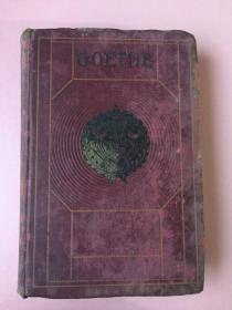 民国或以前,GOETHE,歌德,一本古朴、典雅、厚重的书,买到的朋友捡漏了