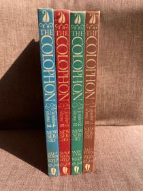 The Colophon New Series: Volume II Complete(书迷季刊新Colophon第二卷四册全,藏书名家云集,配插图,布面精装,老版书,难得好品相)