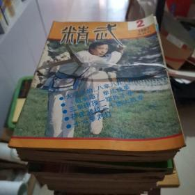 精武 (1983年两期,1984年第1期,1985年第1.2.4期,1986年第1.3.4.5.6期,1987年第2.3.4.5.6期,共16期合售)