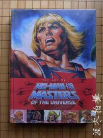 英文原版:宇宙的巨人希曼 Art Of He Man And The Masters Of The Universe
