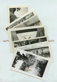 1940年代二战时期,驻中缅印战区的美军士兵照片一组八张