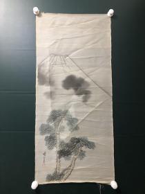 日本回流字画 软片   4952  绢本山水