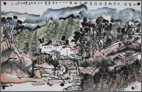 【朱松发】安徽省美术家协会副主席  山水