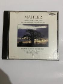 MAHLER: Das Lied Von Der Erde (chicago symphony orchestra)