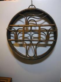 竹器 侘寂 挂件 墙饰