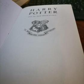 HARRY POTTER and the Half blood prince  哈利波特 和 混血王子