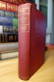 1899年版 马克吐温的 A Connecticut Yankee in King Authur's Court 亚瑟王朝廷上的美国佬