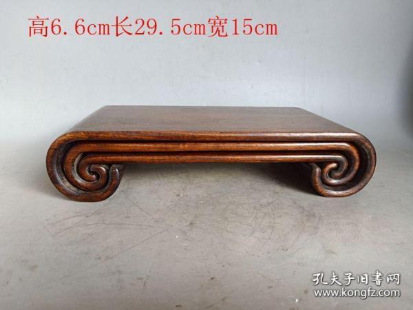 清代传世一套老黄花梨木桌4