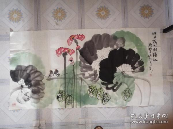刘丰国画(一幅花鸟)