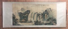 墨庄,多署墨荘,生于1953年,1982年毕业于中央美术学院,职称:国家二级美术师,国家文化部文化市场发展中心特聘书画家,中国当代书画研究会会员,中国书画家协会常务理事,中国国画家协会理事,国画(134cmx68cm)保真