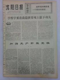 (沈阳日报)第921号