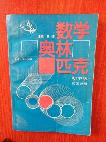数学奥林匹克 初中版 第三分册