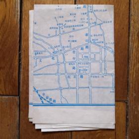 泰山登山路线图(手绘)