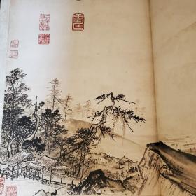 溪山清远图⑤(全二十册,不单发)