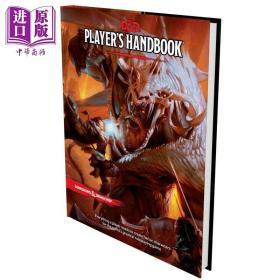 龙与地下城 玩家手册 豆瓣阅读 英文原版 Dungeons Dragons Players Handbook Wizards of the Coast【中商原版】