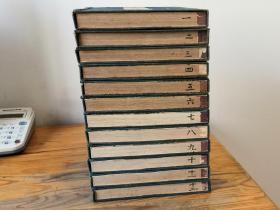 木版画册《日本风俗图绘》12册全