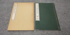 线装珂罗版《王铎唐诗诗卷》1册全,70年代清雅堂出版
