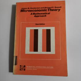 Microeconomic Theory       A Mathematical Approach