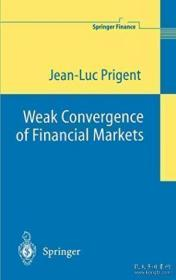 Weak Convergence Of Financial Markets