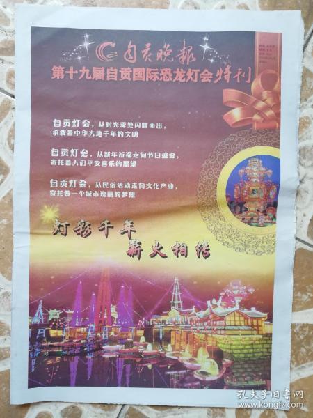 第十九届自贡国际恐龙灯会特刊