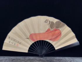 檀木纸折扇