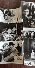 《莉莉·玛莲》  电影黑白剧照包邮挂刷