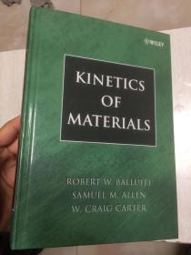 现货 Kinetics of Materials 英文原版 材料动力学  Robert W. Balluffi