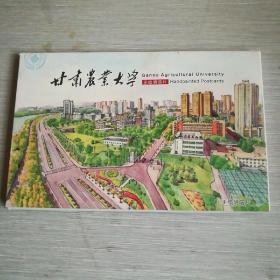 明信片——甘肃农业大学(10张)