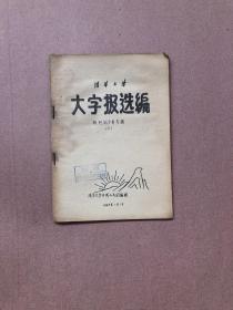清华大学 大字报选编  (三)