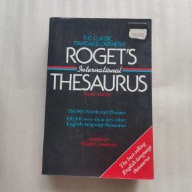 ROGET`S INTERNATIONAL THESAURUS(FOURTH EDITION)