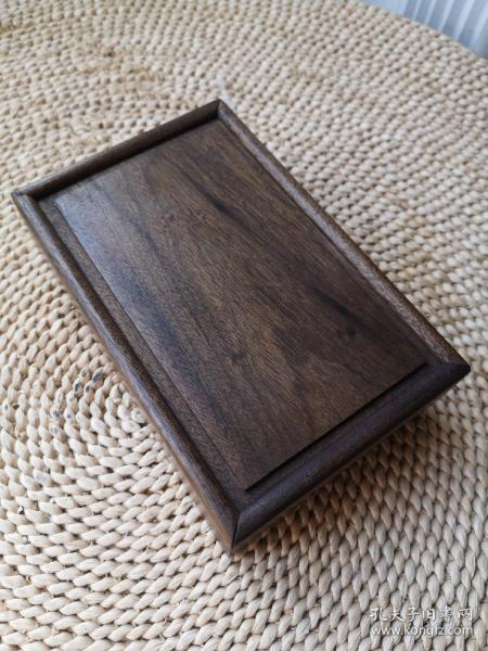 阴沉金丝楠榫卯盒子