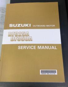 铃木Suzuki DF325 350 船外机维修手册