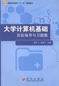 全新正版图书 大学计算机基础 雷宇飞 科学出版社 9787030279651畅阅书斋