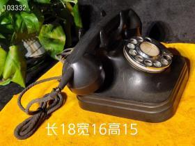 乡下收来六七十年代【老电话机】保存完正整正常使用,存世量少见,收藏价值高!