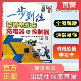 正版 一步到位精修电动车充电器与控制器 自学电动车维修教程书籍