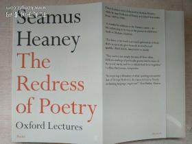 The Redress of Poetry: Oxford Lectures诗歌的纠正