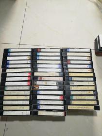 老录像带:日本片《44盒合售》【具体看图】