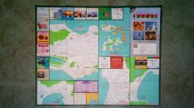 旧地图-澳门旅游地图(2019年)2开8品