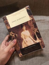Anna Karenina 安娜·卡列尼娜【Garnett英译本修订版,有评论认为该修订版为目前英语世界最佳译本】有铅笔写划!送透明书套