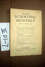 SCIENTIFIC MONTHLY 科学月刊1928年 6月 多图片