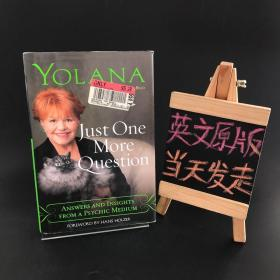Just One More Question:ANSWERS AND  INSIGHTS FROM A PSYCHIC MEDIUM(精装)还有一个问题:来自精神媒介的答案和见解