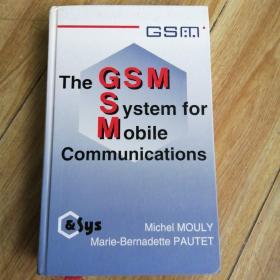 英文精装版 The Gsm System for Mobile Communications