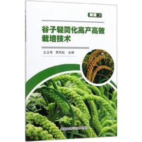 粮食种植技术书籍 谷子轻简化高产高效栽培技术(新版)